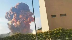 Enormous Explosion Rocks Lebanese Capital of Beirut