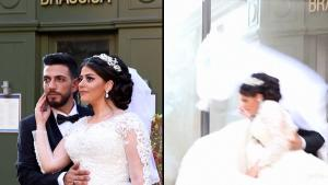 Beirut Explosion Blows Out Windows Behind 'Perfect' Wedding Couple