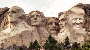 President Trump Denies Asking About Being Added to Mount Rushmore