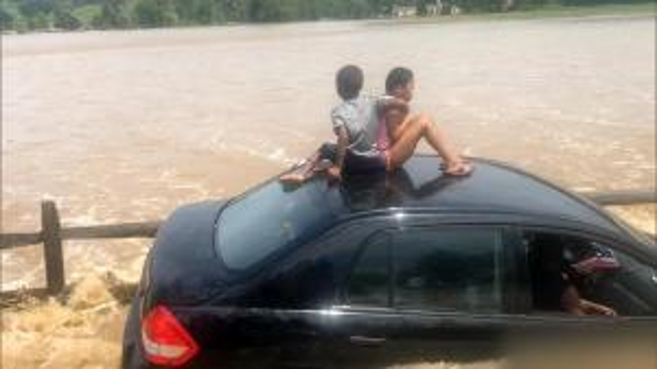 Hero Dad Daniel DiGregorio Rescues Family from Flood in Pennsylvania