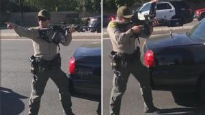 LA County Sheriff's Deputies Detaining 3 Teens at Gunpoint Incites Outrage