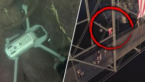 Drone Recovered From River With Heart-stopping Daredevil Footage Sparks Mystery