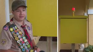 13-Year-Old Boy Scout Invents Device to Save People From Drowning
