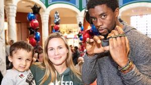 Chadwick Boseman Gives Kid 'Superhero Strength' to Fight Cancer
