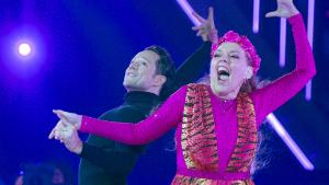 Carole Baskin Performs 'Eye of the Tiger' on 'Dancing With the Stars'