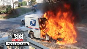Why Are USPS Mail Trucks Bursting Into Flames Spontaneously?