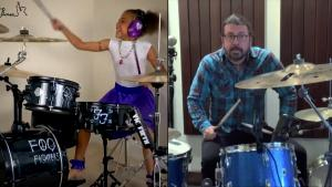 Foo Fighters' Dave Grohl Writes Epic Song for Talented 10-Year-Old Drummer