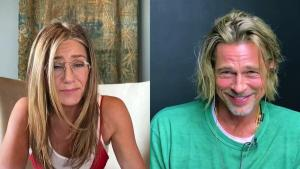 Brad Pitt and Jennifer Aniston Prove They Still Have Chemistry