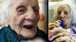 103-Year-Old Celebrates COVID-19 Recovery With a Bud Light in the Hospital