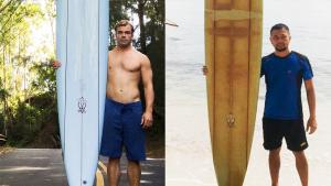 Hawaii Man Who Lost Surfboard in Ocean Learns It Was Found in the Philippines