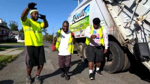 Sanitation Workers Dance on the Job in New Jersey