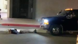 Truck Hits LA Demonstrator During Breonna Taylor Charging Decision Protest