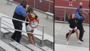 Mom Tased and Arrested After Not Wearing a Mask at Football Game