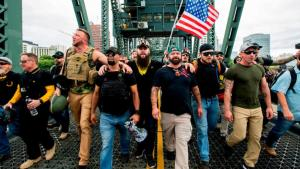 Proud Boys Quickly Adopts President Trump's Words as New Slogan