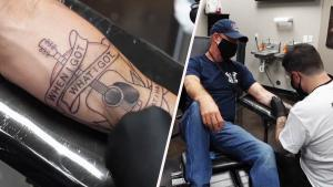 Las Vegas Shooting Survivor Gets 'Healing' Tattoo on Massacre Anniversary