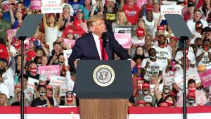 Some Reporters Pull Out From Trump's Rallies Over COVID-19 Safety Concerns