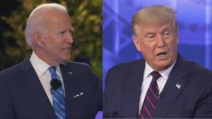 President Donald Trump and Joe Biden Hold Simultaneous Town Halls