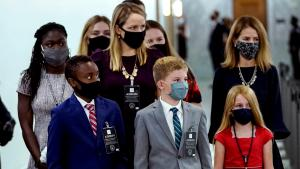 Amy Coney Barrett Joined at Confirmation Hearings by 6 of Her 7 Children