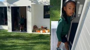 LeBron James Surprises His 6-Year-Old Daughter With Mini-Mansion Playhouse