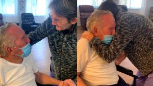 Couple Married for 60 Years Reunited After 215 Days Apart