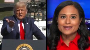 President Trump Criticizes NBC Debate Moderator Kristen Welker: 'She's No Good'