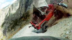 23-Year-Old Survives Terrifying Jeep Crash Down Mountain