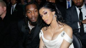 Cardi B and Offset Surrounded by Trump Rally That Ends With Rapper Detained