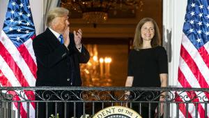 Vice President Mike Pence Is Missing From Amy Coney Barrett Swearing In Ceremony