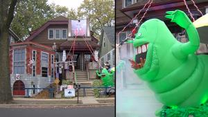 'Ghostbusters' Halloween House in Milwaukee Pays Tribute to 1984 Film