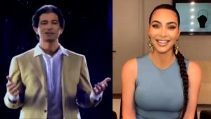 Some Find Kim Kardashian's 40th Birthday Hologram of Dad Disturbing