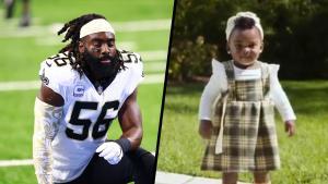 NFL Star Demario Davis' 1-Year-Old Daughter Is Cancer-Free