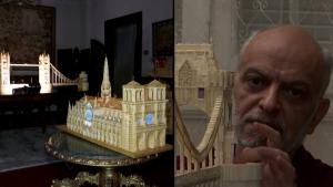 Egyptian Radiologist Makes Elaborate Matchstick Models of Famous Buildings