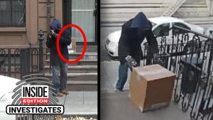 It Took 3 Minutes for This Package to Be Stolen From Someone's Doorstep