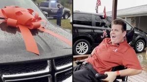 Teen With Cerebral Palsy Gets A Special Van Paid For By Justin Timberlake