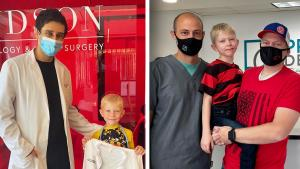 2 Doctors Honored for Helping 6-Year-Old Boy Who Saved Sister From Dog Attack