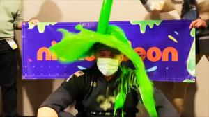 New Orleans Saints Head Coach Sean Payton Gets Slimed After NFL Playoff Win