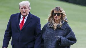 Melania Trump 'Disappointed' Over Capitol Assault and 'Gossip'