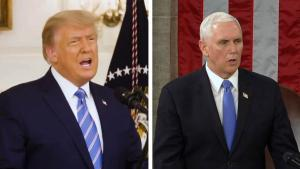 Trump's Inner Circle 'Shrinking' as Vice President Pence Is 'Livid' With Him