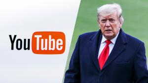 President Trump's YouTube Channel Is Temporarily Suspended