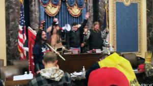Insurrectionists Showed No Fear of Repercussion as They Occupied Senate Chamber