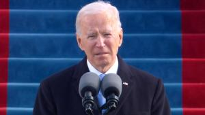 President Joe Biden Calls for Unity in Inaugural Address