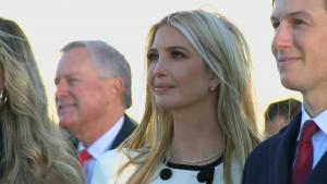 Ivanka Trump Fights Back Tears Watching Her Dad Leave Joint Base Andrews