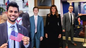 Trump White House Interns Say They Will Keep the Experience on Their Resumes