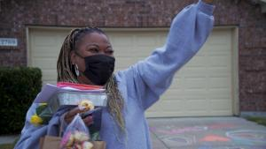 Woman's Neighbors Form 'Circle of Love' After Racist Vandalism in Her Driveway