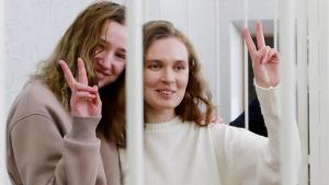 2 Reporters Are Sentenced to Jail in Belarus for Filming Protests