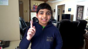 11-Year-Old Texas Boy's Rousing Reporting on Winter Storm