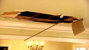 'Neighbor From Hell' Comes Crashing Through Apartment Manager's Ceiling