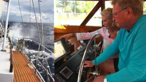 Couple Stuck at Sea for 28 Days Was Slammed by 60 Foot Wave