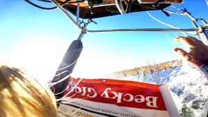 Hot Air Balloon Makes Terrifying 'Rip Landing' in Icy Water in Utah