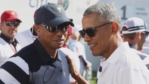 Obama and Trump Both Offer Tiger Woods Messages of Support After Crash